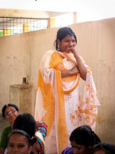Raziasultana -13 jaar- woont in het Falaknuma Rainbow Home in Hyderabad.